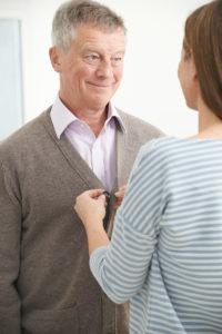 Elder Care in Reston VA: Dad's Hearing Test